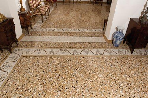 Terrazzo veneziano terminali antivento per stufe a pellet for Veneziana pavimento
