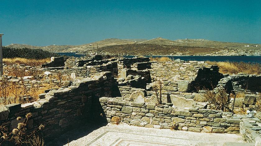 Casa di Dioniso, Delo Isole Cicladi