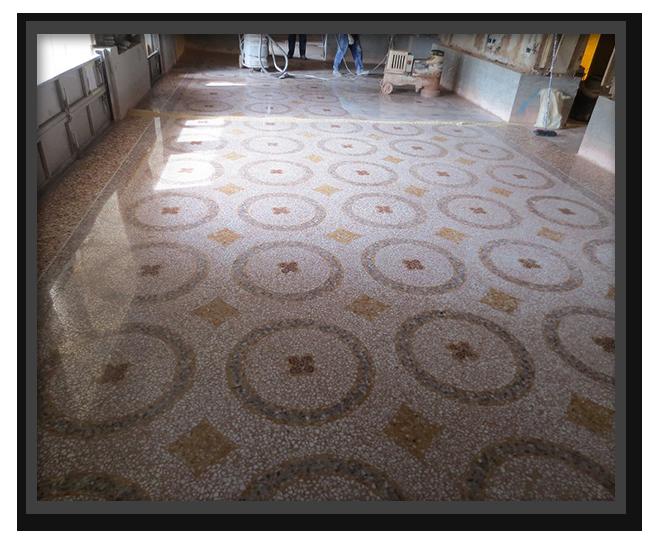 Pavimenti Hotel Gritti Palace Venezia - lavoro finito