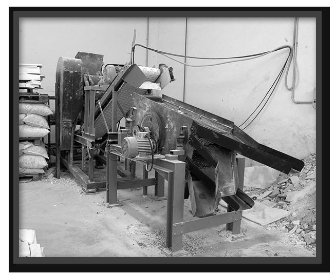 produzione di graniglie 1