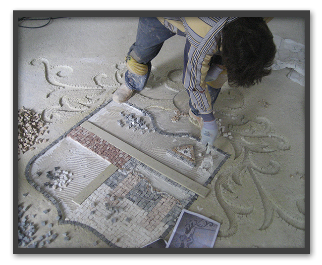 Pavimenti in mosaico 3