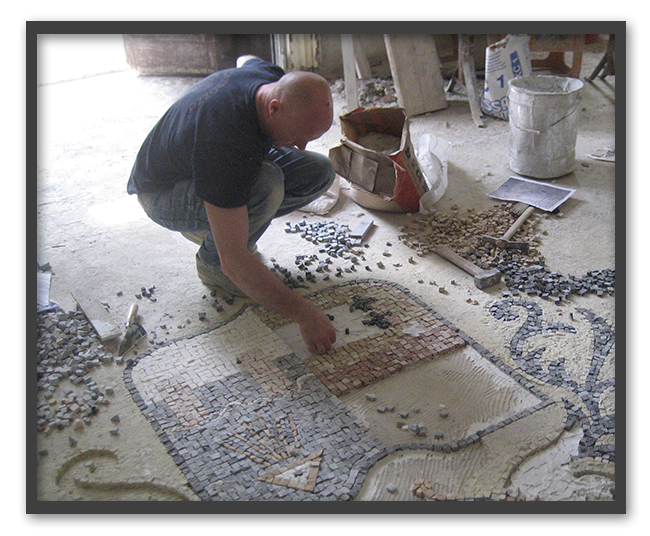 Pavimenti in mosaico 4