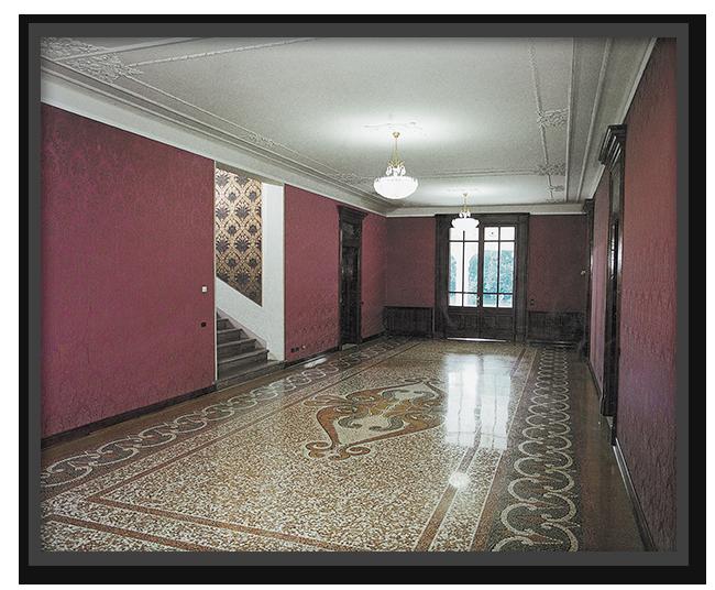 Pavimenti alla veneziana in villa privata a Carpi - lavoro finito