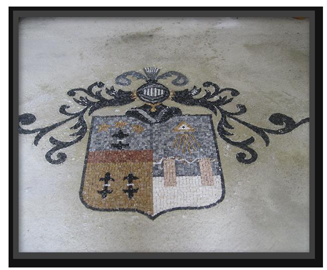 Pavimenti alla veneziana in villa privata a Parma - mosaico 1
