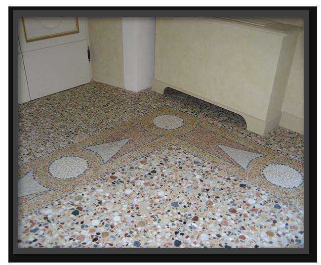 Pavimenti alla veneziana in villa privata a Bagni a Ripoli 2
