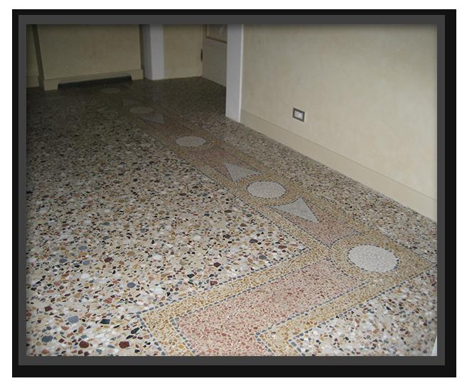 Pavimenti alla veneziana in villa privata a Bagni a Ripoli 3
