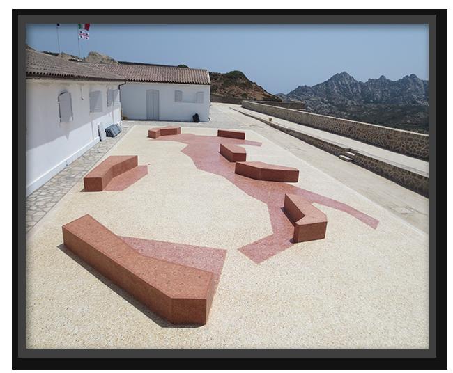 Pavimento Museo Garibaldi Caprera - lavoro finito