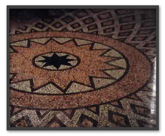 Pavimento Tempietto Leopoldino Vienna - dopo